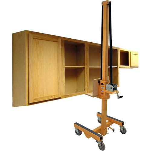 Cabinetizer cabinet installation lift by telpro for Cabinet installation
